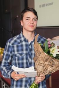 Felix Edstam Uddevalla gymnasieskola, estetstipendiat