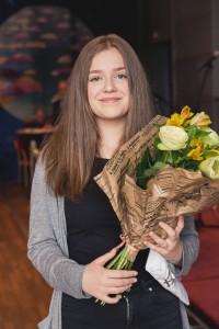 Moa Faritzson, Uddevlla gymnasieskola, musikstipendiat