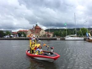 """Uddevallas nya sjöräddningsbåt """"Thordénstiftelsen."""""""