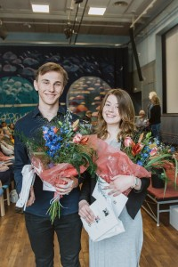 Martin Lund och Sanna Nyman, Uddevalla gymnasieskola