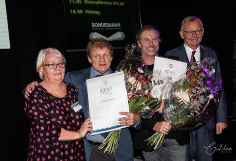 Anders Granhed och Janne Bark fick Bohuspriset vid Bohusbiennalen