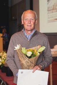 Bertil Thoren, ordförande i Skaftö Golfklubb