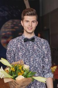 Philip Vinghamre, Uddevalla gymnasieskola, musikstipendiat